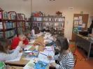 Gwarnie i kolorowo podczs ferii w bibliotece w Miłoradzicach_1